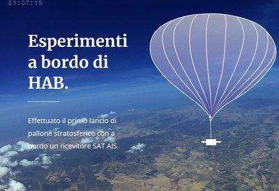 Esperimenti a bordo di HAB MBI
